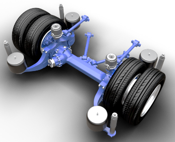 Inverted Portal Axle